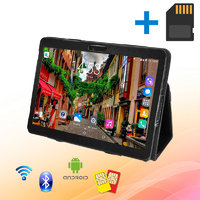 Планшет-Телефон MiXzo ME1023 3G 10.1 дюймов 1GB RAM 16 GB ROM GPS + Чехол-книжка + Карта памяти 32GB