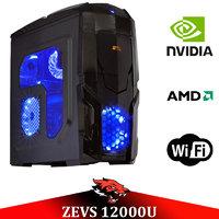 Игровой Мега Монстр ПК ZEVS PC12000U RYZEN 1600 + GTX 1050TI 4GB +8GB DDR4 +ИГРЫ!