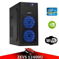 Супер современный ПК ZEVS PC 12400U i5 9400-F +GTX 1050TI 4GB +16GB DDR4 + Игровая клавиатура