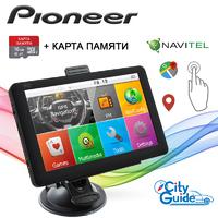 Навигатор Pioneer 5620 5'' Win CE 6.0 8GB ROM + Карта 16GB