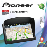 Навигатор Pioneer 5620 5'' Win CE 6.0 8GB ROM + Козырек + Карта 32GB