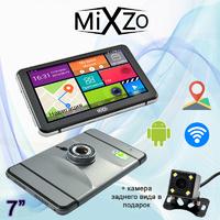 Новинка! GPS навигатор MiXzo MX-745 DVR + AV + Камера заднего вида