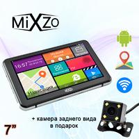 "GPS навигатор MiXzo MX-745i 7"" 8 Ядер Android 4.4 + Камера заднего вида"