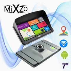 Новинка! GPS навигатор MiXzo MX-745 DVR + AV + Козырек