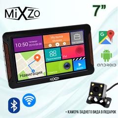 ЛУЧШИЙ! GPS навигатор MiXzo MX760M DVR 1/16GB AV/FM/BT/Wi-Fi + Камера заднего вида