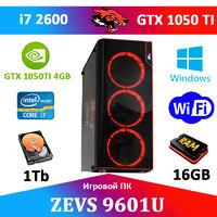 Игровой Монстр ПК ZEVS PC 9601U i7 2600 16GB + GTX 1050TI 4GB