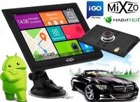 """МЕГА! GPS навигатор 9"""" MiXzo MX-970DVR +1/16GB DVR/AV/FM/BT/Wi/Fi"""