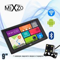 """МЕГА! GPS навигатор 9"""" MiXzo MX-970DVR +1/16GB DVR/AV/FM/BT/Wi/Fi + Камера заднего вида"""