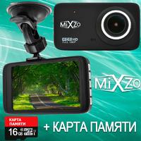Видеорегистратор MiXzo MD 470V 4'' Full HD miniUSB + Карта памяти 16GB