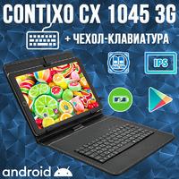Отличный Недорогой Планшет-Телефон Contixo CX1045 2/16GB 3G GPS + Чехол-клавиатура