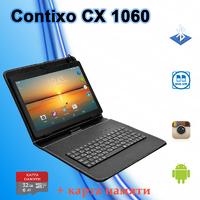 """Планшет CONTIXO CX1060 3G 10.1"""" 1280х800 2GB/16GB GPS + Чехол-клавиатура + Карта памяти 32GB"""