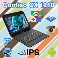 Недорогой 3G Планшет Contixo CX1210 10.1'' IPS 1/16GB GPS + Чехол-клавиатура