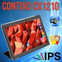 Недорогой 3G Планшет Contixo CX1210 10.1'' IPS 1/16GB GPS + Чехол-вкладыш
