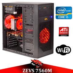 Игровой ПК ZEVS PC7560M i5 2500 4x3.3GHz +RX 550 2GB +ИГРЫ