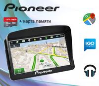 "GPS навигатор Pioneer Pi7215 7"" Win CE 6.0 8GB + Козырек + Карта 16GB"
