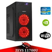Игровой Мега Монстр ПК ZEVS PC11700U i5 9400-F + GTX 1050TI 4GB +8GB DDR4 +SSD
