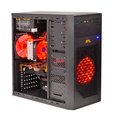 АКЦИЯ! Недорогой игровой ПК ZEVS PC7780 Phenom II X3 + RX 550 2GB +Игры!