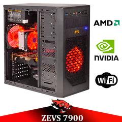 АКЦИЯ! Игровой ПК ZEVS PC7900 Phenom II X4 +GTX 750TI 2GB +ИГРЫ!