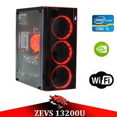 Игровой Мега Монстр ПК ZEVS PC13200U i5 9400-F + GTX 1060 6GB +8GB DDR4 +ИГРЫ!