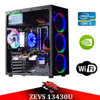Супер современный ПК ZEVS PC 13430U i5 9400F + GTX 1060 3GB + 16GB DDR4