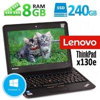 """Акция! Недорогой современный ноутбук Lenovo ThinkPad X130e 11.6"""" 8GB 240GB SSD WEB камера!"""
