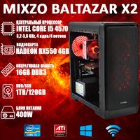 Игровой ПК MiXzo BALTAZAR X2 i5 4570 + RX 550 4GB + Игры!