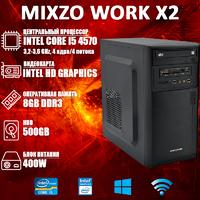 Хороший Компьютер ПК MiXzo WORK X2 i5 4570 Intel HD Graphics 4600