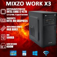 Хороший Компьютер ПК MiXzo WORK X3 i7 4770 Intel HD Graphics 4600