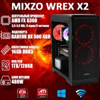 Игровой ПК MiXzo WREX X2 FX 6300 + RX 560 4GB 120GB SSD