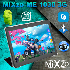 Планшет MiXzo ME1030 3G 32GB + Чехол - вкладыш
