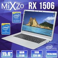 """Ноутбук MiXzo RX 1506 15.6"""" 1920x1080 8GB RAM 128GB SSD Intel Celeron J3455"""