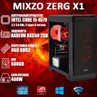 Хороший ПК MiXzo Zerg X1 i5 4570 + RX 550 2GB