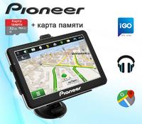 "GPS навигатор Pioneer Pi7215 7"" Win CE 6.0 8GB + Карта памяти 32GB"
