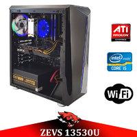 Супер современный ПК ZEVS PC 13530U i5 9400F +RX 580 8GB +16GB DDR4
