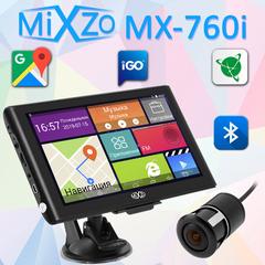 "Навигатор MiXzo MX-760i 7"" 1/16 FM AV Android 4.4 + Камера заднего вида"
