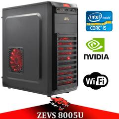 Игровой ПК ZEVS PC 8005U i5 3570 + GTX 750TI +ИГРЫ!