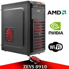 Недорогой Cовременный Игровой ПК ZEVS PC 8910 (Bazooka) Athlon X4 870K +GTX 1050 + Игры