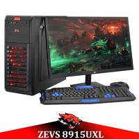 Недорогой Cовременный Игровой ПК ZEVS PC 8915UXL (Varian)  Athlon X4 870K + RX 550 4GB + Монитор 21.5''