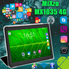 Планшет MiXzo MX1035 4G 16GB + Чехол - вкладыш
