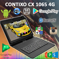 "Планшет-Телефон CONTIXO CX1065 4G 10.1"" IPS 2 GB RAM 32 GB ROM GPS FM + Чехол-клавиатура"